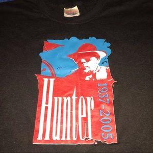 Vintage 2005 Hunter S. Thompson T-shirt.